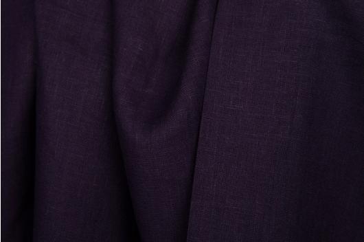 100% lin i mørke lilla farge