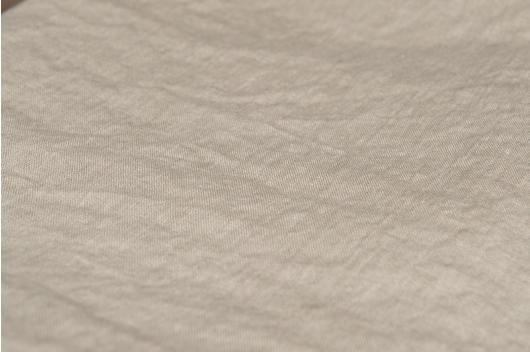 100% vasket lin i naturfarge