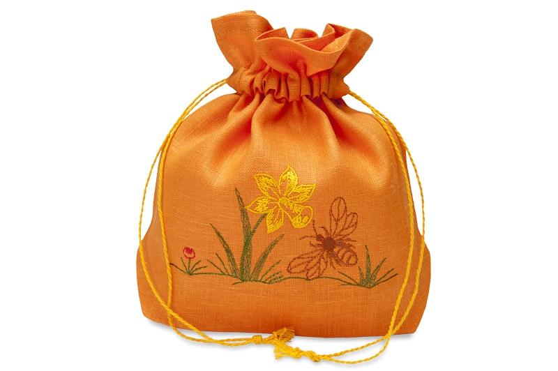 Gavepose med bie