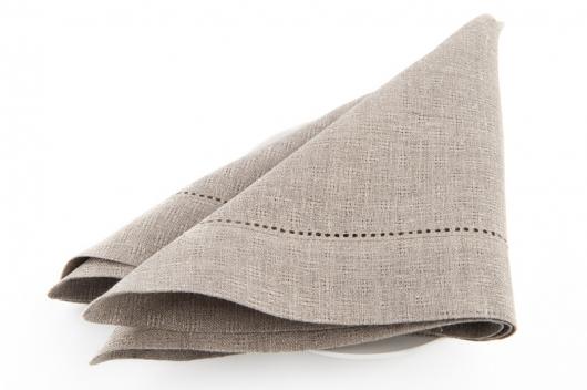 Grå mønstrete serviett