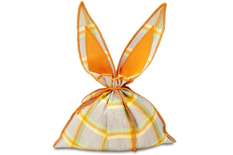 Harepus grå gavepose for Påske