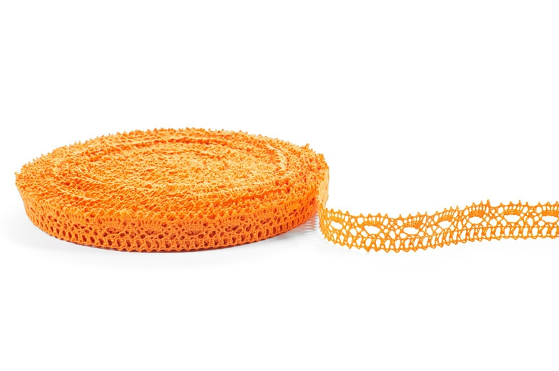 Linblonde-oransje farge