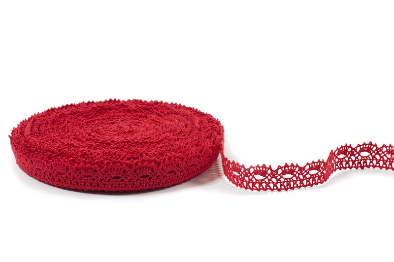 Linblonde-rød farge
