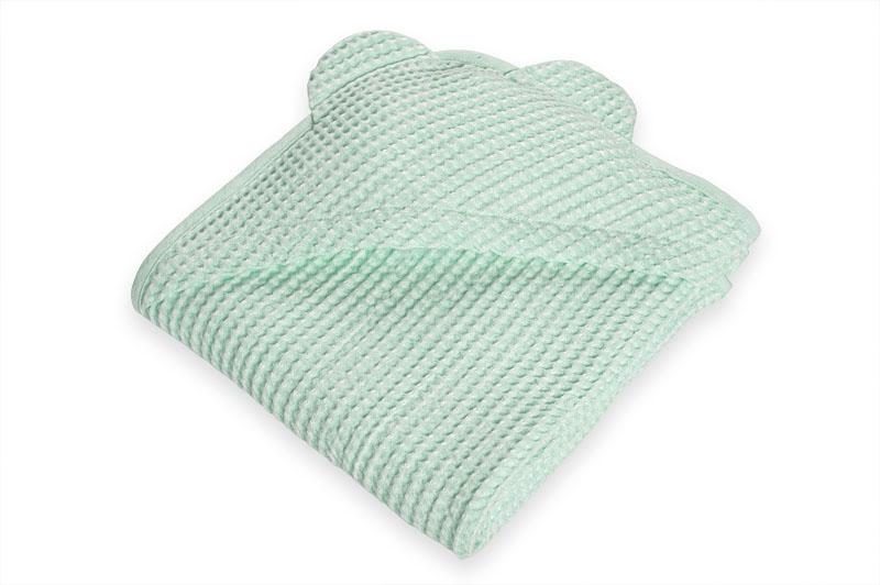 Lysegrønt barnehåndkle