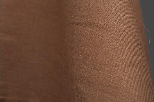 0064a36f Melkesjokolade brun 100% lin - linbutikken.no