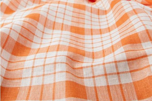 Orange rutete 100% lin