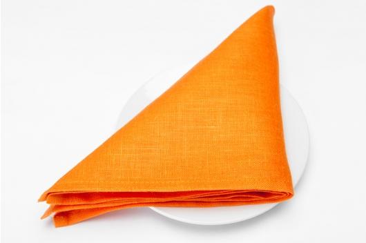 Oransje serviett