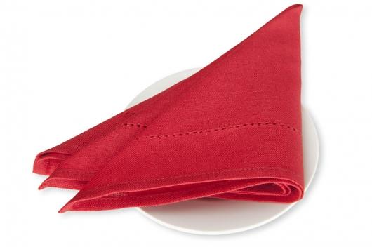 Rød serviett