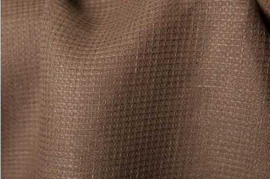 c3d61e76 Sjokolade brun 100% lin i vaffel mønster - linbutikken.no