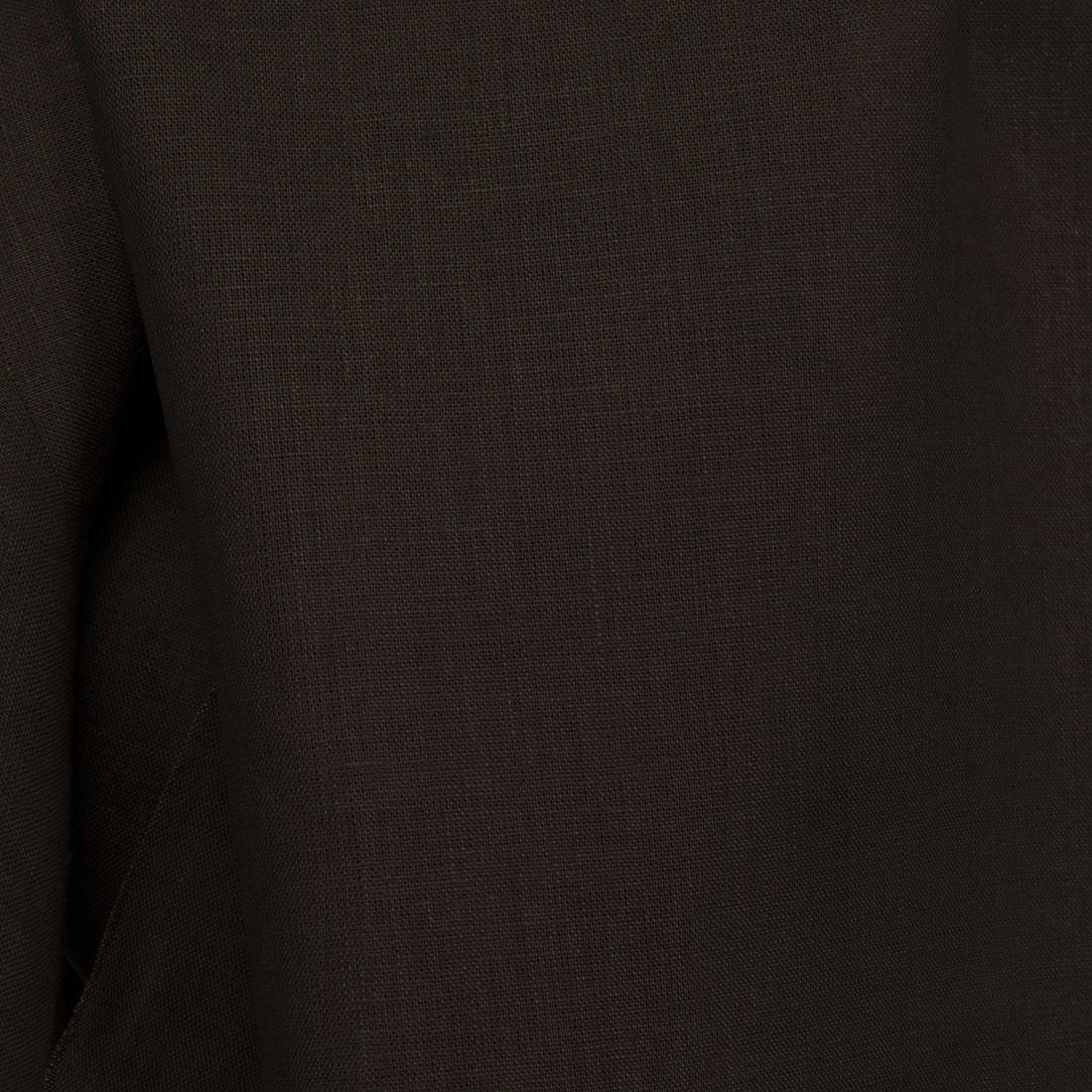 6df15cd7 100% lin i en mørkebrun farge - linbutikken.no
